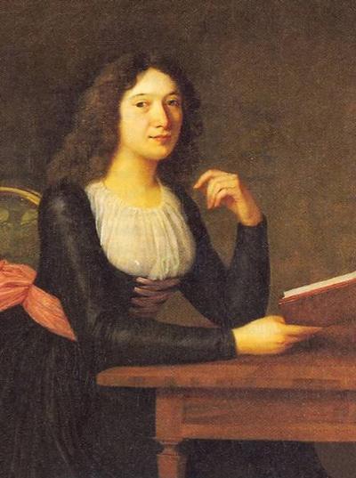 Charlotte von Lengefeld, Gemälde von Simanowiz, 18. Jahrhundert
