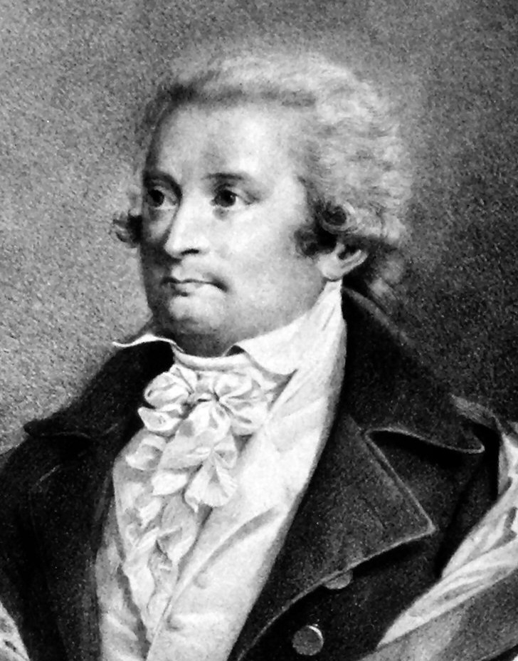 August Wilhelm Iffland, Lithographie von Johann Stephan Decker, um 1825