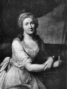 Charlotte von Kalb, Ölgemälde im Wittumspalais Weimar, gemalt von Johann Heinrich Schmidt, 1785