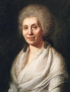Elisabeth Dorothea Schiller, Gemälde von Simanowitz, 1793, Foto: Hans Steinhorst / Landesmedienzentrum Baden-Württemberg