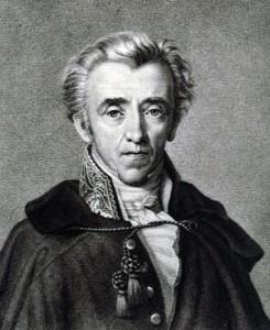 Johann Friedrich Cotta, Lithografie nach einem Gemälde von Th. Leybold