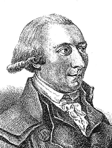 Georg Joachim Göschen (1752–1828), Lithografie nach einer Zeichnung von Gränicher