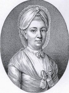 Henriette-von-Wolzogen (1745–1788), Gönnerin von Friedrich Schiller. Sie bot ihm Asyl in Bauerbach in Thüringen an.