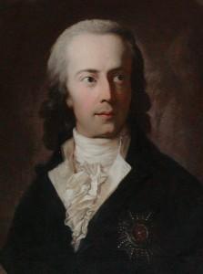 Herzog Friedrich Christian II. von Augustenburg, Gemälde von Anton Graff