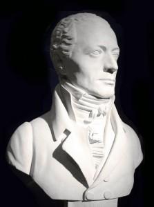 Johann Andreas Streicher, Büste von Franz Klein, Foto: Andreas Praefcke