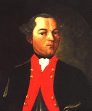 Johann Caspar Schiller, der Vater von Friedrich Schiller, Ölgemälde, undatiert