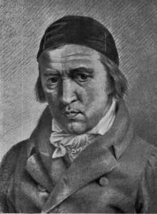 Der Maler Johann Heinrich Meyer, ein Selbstbildnis