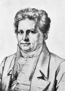 Johann Ludwig Tieck, deutscher Schriftsteller, Bleistiftzeichnung von C. Vogel