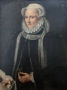 Maria Stuart, Königin von Schottland, um 1575. Schiller greift in seinem Drama die Geschichte der schottischen König, die 1568 nach der Ermordung ihres Mannes fliehen musste und sich von der englischen Königin Elisabeth I. Hilfe erhofft, auf.