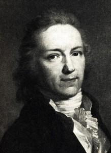 Gottlieb Hufeland, Gemälde von Johann Friedrich August Tischbein