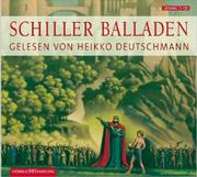 Cover vom Hörbuch: Ballden von Friedrich Schiller, gelesen von Heikko Deutschmann