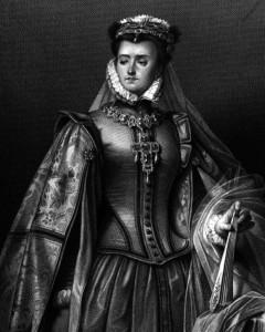 Elisabeth von Valois, Charakter aus dem Schiller-Drama Don Carlos, Zeichnung von Arthur von Ramberg, 1859