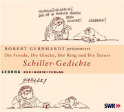 Cover vom Hörbuch: Robert Gerhard präsentiert Schiller-Gedichte