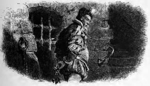 Maria Stuart, 1. Akt, 8. Szene: Lord Burleigh, der Schleicher, sucht einen Mörder für Maria Stuart.