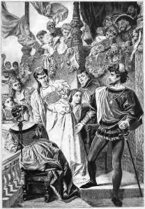 Der Handschuh – Friedrich Schiller: Der Ritter schlägt der Damen den Handschuh ins Gesicht